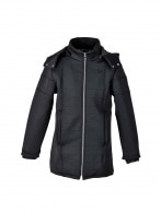 MENS LONGLINE NEOPRENE COAT
