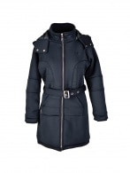 WOMENS LONGLINE NEOPRENE COAT