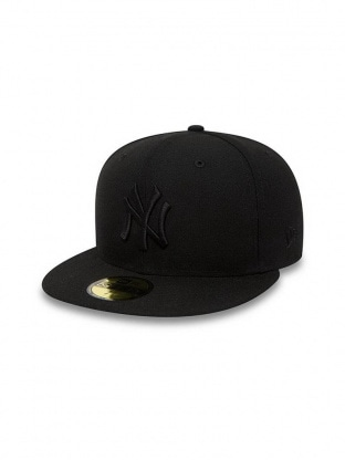 Black on Black Yankees Cap