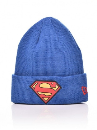 KIDS CHARACTER CUFF KNIT SUPERMAN
