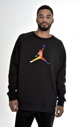 M J SPRT DNA HBR FLEECE CREW