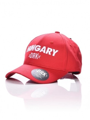 HUNGARY DRK BASEBALL CAP RED