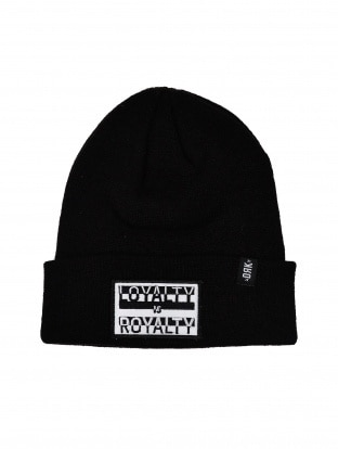 DRK x LOYALTY IS ROYALTY KNITTED HAT