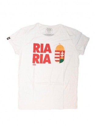 RIA RIA T-SHIRT WHITE MEN