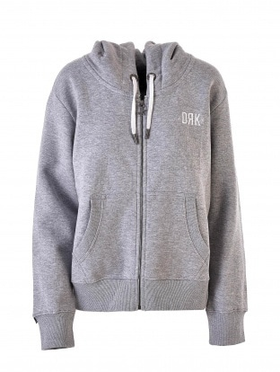 BASIC ZIPPED HOODIE WOMEN