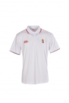 HUNGARY TENNIS T-SHIRT WITH COLLAR
