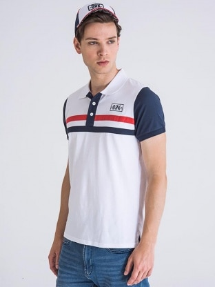BODY STRIPED POLO MEN