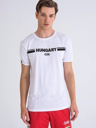 HUNGARY PRINTED T-SHIRT MEN
