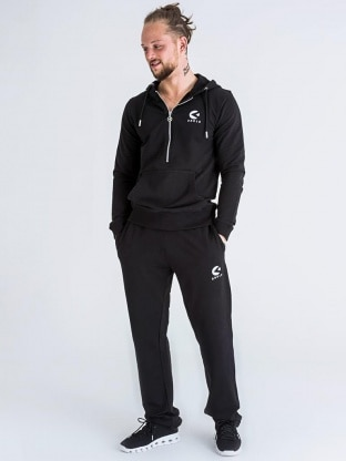 ZIPPED SWEATER JOGGING SET MEN
