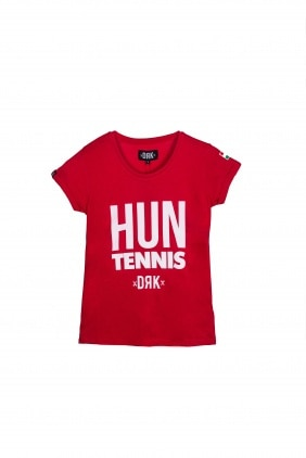 HUN TENNIS T-SHIRT W