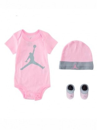 JUMPMAN HAT/BODYSUIT/BOOTIE SET 3PC